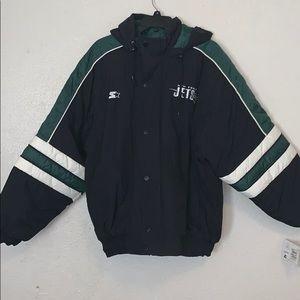 New York Jets Vintage Coat Jacket